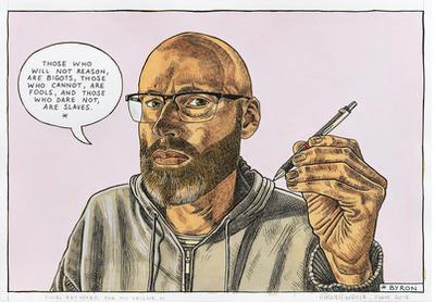 Self-portrait: Bigots, fools or slaves