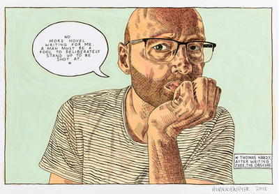 Self-portrait: Novel writing