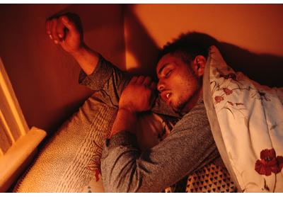 Sleeping Boy Two Bronx, New York, Circa Late 1980s