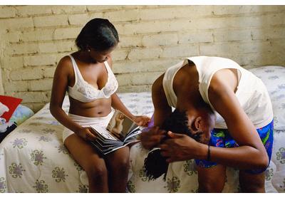 Katlego Mashiloane and Nosipho Lavuta, Ext. 2, Lakeside, Johannesburg, 2007