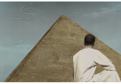Self-portrait with Pyramid, Cairo