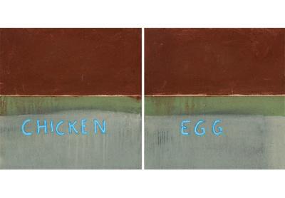 Untitled (chicken 'n egg)